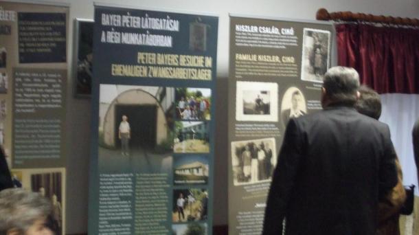 Völgységi németek a Donec medence munkatáboraiban kiállítás