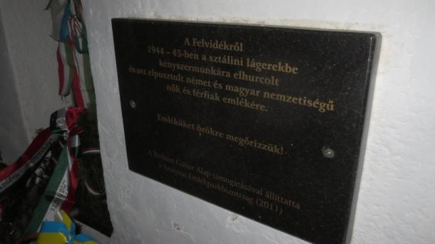 Emlékzarándokút - nagykaposiak