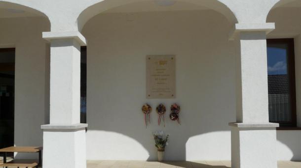 Emléktábla avatás az Edelényből elhurcolt hadifoglyok tiszteletére