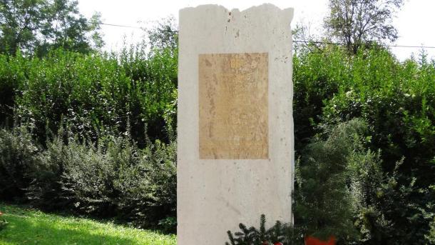 GULÁG emlékmű Nemesrádó