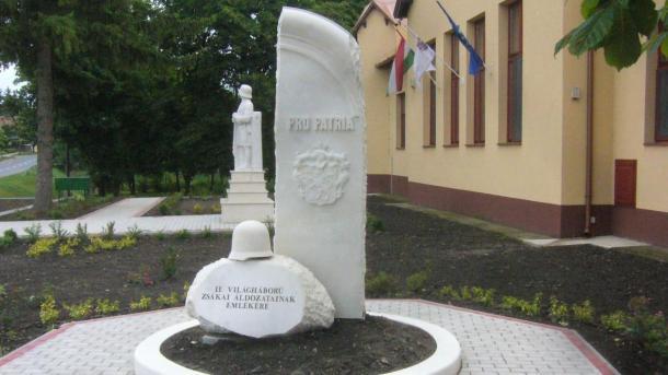 II. világháború zsákai áldozatainak emlékére