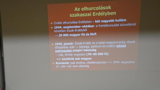 2017. február 2-5 között szervezték meg azt az emlékutat, mely a Gulágra elhurcolt honfitársainknak állított emléket.