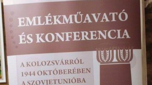 Emlékmű - Az 1944 októberében a szovjetek által elhurcolt 5000 magyar emlékére