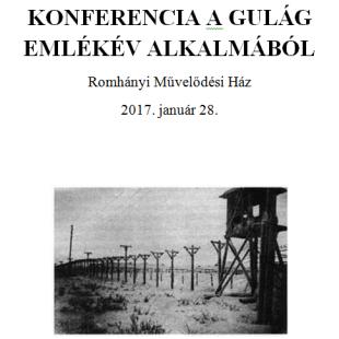 KONFERENCIA A GULÁG EMLÉKÉV ALKALMÁBÓL