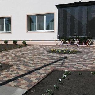 Mérki félrevert harangok 1945 - Emlékpark
