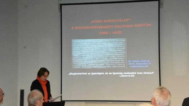 """,,Emlék-konferencia Szatmárban a kommunizmus borzalmairól és rendkívüli történelemóra"""""""